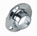 Round Base Flanges 19mm Chrome (Polybag Pair)