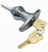 LMT5 Mini 'T' Shape Handles with Lock Nut Fixing Random Keyed Chrome (Loose)