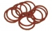 Fibre Body Washers 19.0mm, 3/4'' Red (100)