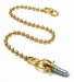 375mm Ball Chain No.8 Gold Screw (Carded)