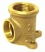 Brass Bracket Elbow 20mmF x 15mmB (Loose)