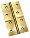 Butt Hinges 3'' x /4'' Polished Brass (Carded 2)
