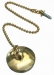 Metal Plug 40mm Gold Plated & 600mm Chain/Screw (Carded)