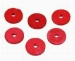 Fibre Tap Washers 19.0mm(3/4'') Flat Red (10)