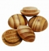 32mm Pine Pin Buttons ( 12)