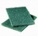 Scouring Pads Green - Medium Grade (10)