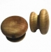 Tawa Knobs 57mm Raw Finish (Polybag  50)