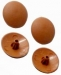 Pozi Drive Screw Cover Caps Rimu/Teak (1000)