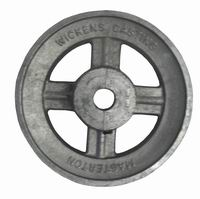 Aluminium V Pulley 6.1/2'' x 5/8'' Bore